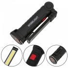 ZHAOYAO 3W 300LM 360 Degree Handheld Magnetic Multi-function COB LED Work Light