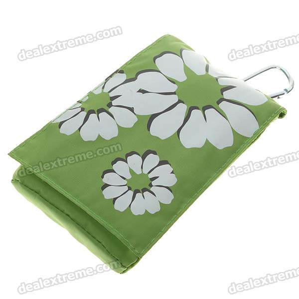 Protective PVC Soft Pouch with Carabiner & Long Sling for Cellphone - Color Assorted