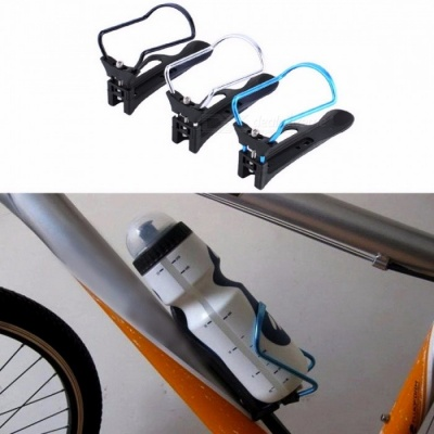 High Quality Cycling Bike Bicycle Aluminum Alloy Rack Water Bottle Holder Bracket Cage Support for Mountain Bike Black