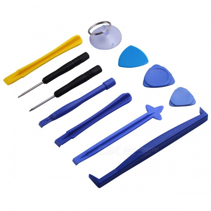 OJADE Plastic Spudger Pry Opening Tool, Mobile Phone Repair Tool Kit (11 PCS)Other Tools<br>Form  ColorMulticolorQuantity1 DX.PCM.Model.AttributeModel.UnitMaterialABSPacking List1 x Tool Kit<br>
