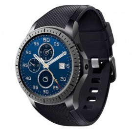 "1,3 ""3G bluetooth V4.0 wi-fi montre intelligente avec 512 Mo de RAM + 8 Go ROM, GPS, appareil photo 2.0MP - noir"