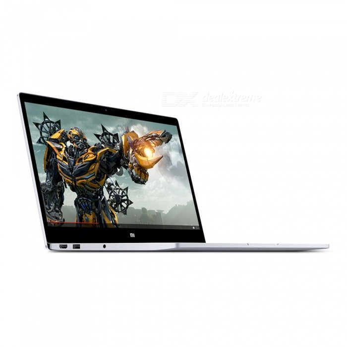 Xiaomi Air Notebook 13.3 inch Air Intel 8GB RAM 256GB-Fingerprint UnlockNetbooks and Laptops<br>Form  Colori5 / 8GB / 256GB  Silver(Graphics + fingerprintBrandXiaomiQuantity1 setMaterialMetalProcessor BrandIntel i5Processor ModelOthers,Intel Core i5-7200UNumber of CoresDual CoreProcessor Speed3.1 GHzBuilt-in Memory / RAM8GBCapacity / ROM256GBScreen SizeOthers,13.3inchesResolution1920 x 1080Screen TypeOthers,FHDTouch TypeNo touch controlBluetooth VersionOthers,Bluetooth V4.1USBUSB 3.0HDMIHDMI 1.0,HDMI 1.1,HDMI 1.2,HDMI 1.2a,HDMI 1.3,HDMI 1.4Speaker2CameraYesFront Camera Pixels100 pixelsBattery Capacity578Wh/L Lithium ion polymer mAhOperating SystemOthers,Windows 10Supported LanguagesEnglish,Simplified ChineseBattery TypeLi-polymer batteryCharging Time1 hourWorking Time9.5 hoursPacking List1 x Host1 x Power Adapter1 x Getting Started (Simplified Chinese)<br>