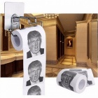Donald Trump Humour Premium Quality Toilet Paper Roll, Novelty Funny Gag Gift for Friends, Dump with Trump