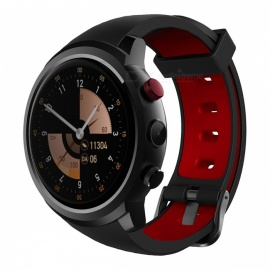 "Z18 android 5.1 1,3 ""runden Bildschirm Wi-Fi Bluetooth Smart Watch w / Pulsmesser, GPS, 512 MB RAM + 8 GB ROM - schwarz"