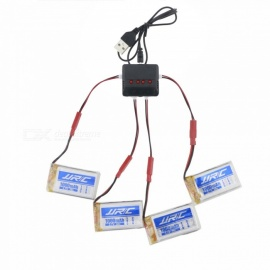 JJRC X4A - B10 3.7V 1000mAh 30C Lithium-ion Battery Set for JJRC H51 RC Drone