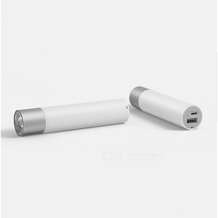 Original Xiaomi Stylish Portable Mini Flashlight Maximum Brightness 240lmOther Batteries Flashlights<br>Form  ColorWhiteModelLPB01ZMQuantity1 DX.PCM.Model.AttributeModel.UnitMaterialPCOther FeaturesZoom-to-throw,RechargeableBrandOthers,xiaomiEmitter BrandOthers,LumiledsLED TypeXM-LEmitter BINT6Number of Emitters1Color BINNeutral WhiteWorking Voltage   5 DX.PCM.Model.AttributeModel.UnitPower Supplylithium batteryCurrent2 DX.PCM.Model.AttributeModel.UnitActual Lumens240lm DX.PCM.Model.AttributeModel.UnitRuntime216 DX.PCM.Model.AttributeModel.UnitNumber of ModesOthers,11Mode ArrangementSOSMode MemoryNoSwitch TypeClicky SwitchSwitch LocationHeadLensOthersReflectorNoBeam Range2000 DX.PCM.Model.AttributeModel.UnitStrap/ClipStrap includedOutput(lumens)1-200Runtime(hours)2.1-3Packing List1 x Flashlight1 x Data cable (20cm)1 x Hand rope (16cm)1 x Manual (Simplified Chinese)<br>