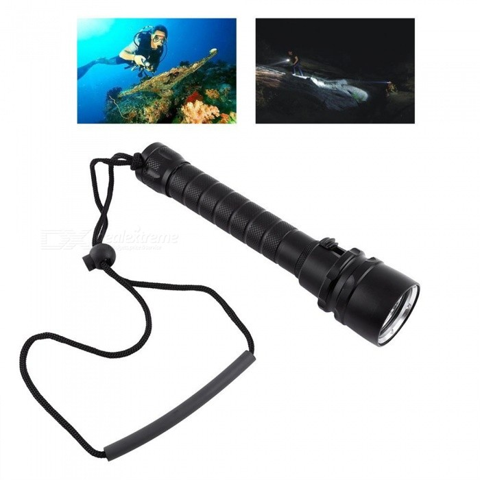 ZHAOYAO Portable T6 Bright Light Waterproof 18650 Diving ...