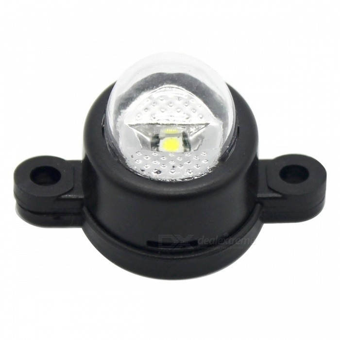 IZTOSS MP2891 Mini Button-Type LED Lamp for Motorcycle / Car Modification - Black