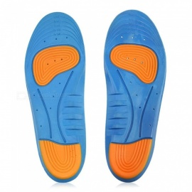 Universal Outdoor Unisex Silicone Thickened Shockproof Trim Insoles Shoe-pad (250-280 / 41-46)