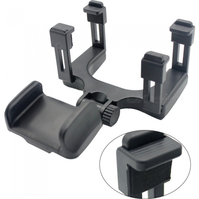 IZTOSS AP2996 Portable Adjustable Car Rearview Mirror Mount Phone GPS Bracket - BlackOther Gadgets<br>Form  ColorBlackModelAP2996Quantity1 DX.PCM.Model.AttributeModel.UnitMaterialEnvironmental protection materialsShade Of ColorBlackPacking List1 x Car phone bracket<br>