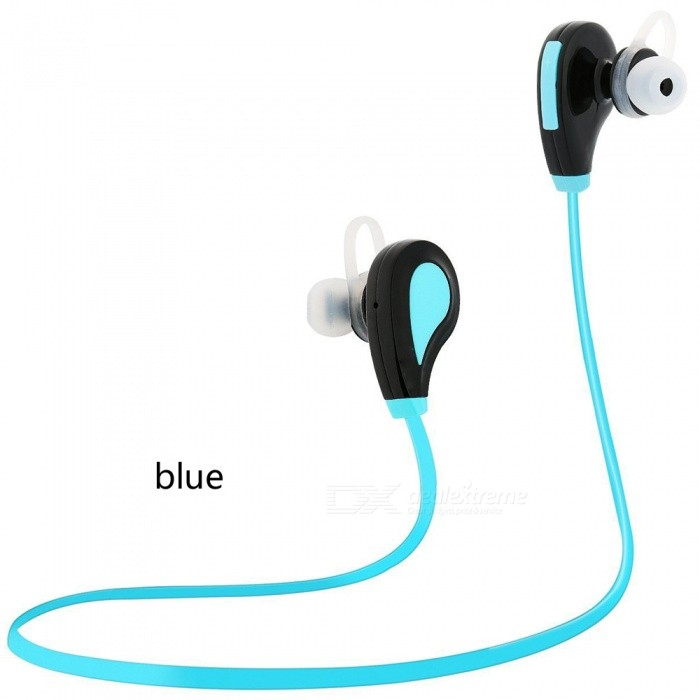 Sports Fitness Bluetooth Headset Wireless Running Earphones - Blue + BlackOther Bluetooth Devices<br>Form  ColorBlue + BlackMaterial-Quantity1 DX.PCM.Model.AttributeModel.UnitShade Of ColorBlueBluetooth VersionBluetooth V4.0Operating Range10mStandby Time240 DX.PCM.Model.AttributeModel.UnitPacking List1 x Earphones<br>