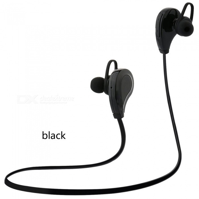 Sports Fitness Bluetooth Headset Wireless Running Earphones - BlackOther Bluetooth Devices<br>Form  ColorCarbon BlackMaterial-Quantity1 DX.PCM.Model.AttributeModel.UnitShade Of ColorBlackBluetooth VersionBluetooth V4.0Operating Range10mStandby Time240 DX.PCM.Model.AttributeModel.UnitPacking List1 x Earphones<br>