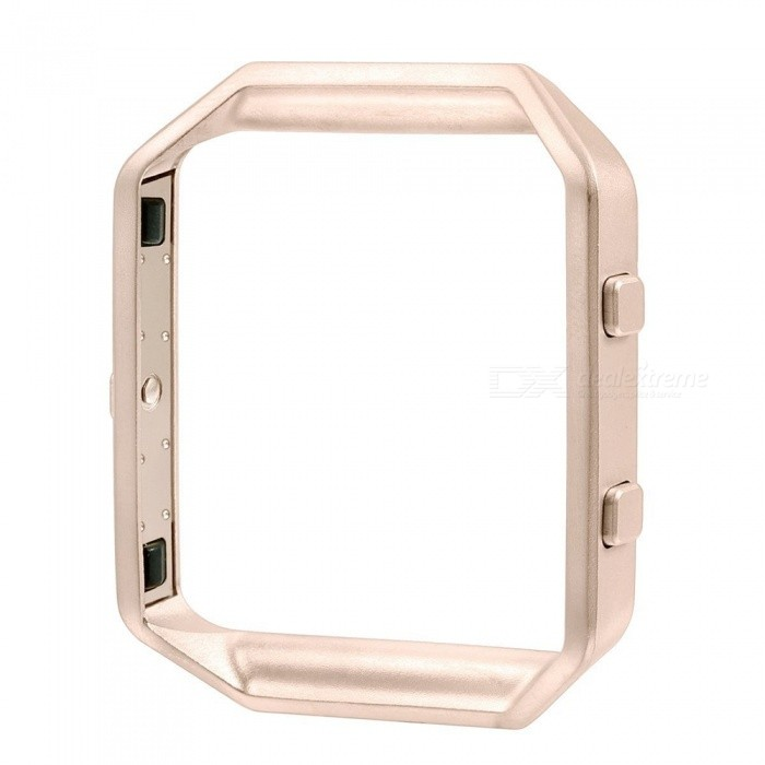 Miimall Stainless Steel Replacement Metal Frame Housing for Fitbit Blaze Smart Watch - Rose GoldWearable Device Accessories<br>Form  ColorRose GoldModelFibit Blaze FrameQuantity1 DX.PCM.Model.AttributeModel.UnitMaterialStainless SteelPacking List1 x Fitbit Blaze Smart Watch Frame ( Rose Gold )<br>