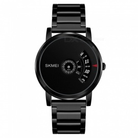 SKMEI 1260 Men's 30 Waterproof Full Steel Fashion Quartz Watch - Silver