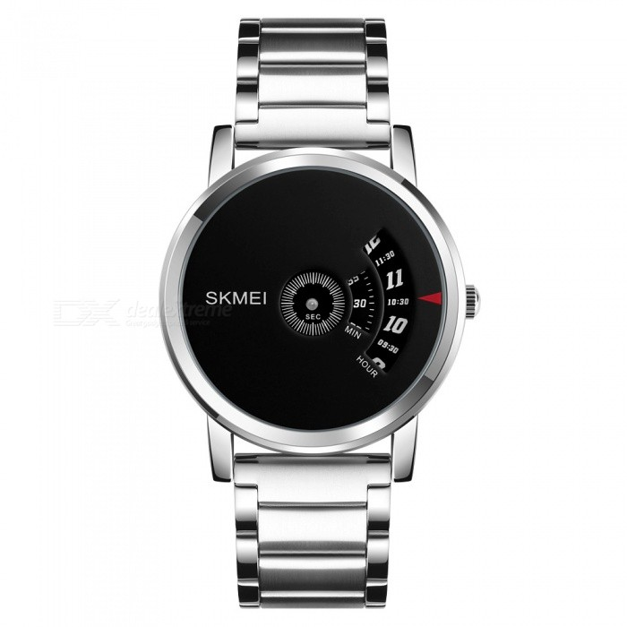 SKMEI 1260 Mens 30 Waterproof Full Steel Fashion Quartz Watch - SilverQuartz Watches<br>Form  ColorSilverModel1260Quantity1 DX.PCM.Model.AttributeModel.UnitShade Of ColorSilverCasing MaterialAlloyWristband MaterialStainless SteelSuitable forAdultsGenderUnisexStyleWrist WatchTypeFashion watchesDisplayAnalogMovementQuartzDisplay Format12 hour formatWater ResistantWater Resistant 3 ATM or 30 m. Suitable for everyday use. Splash/rain resistant. Not suitable for showering, bathing, swimming, snorkelling, water related work and fishing.Dial Diameter4.6 DX.PCM.Model.AttributeModel.UnitDial Thickness0.9 DX.PCM.Model.AttributeModel.UnitWristband Length25 DX.PCM.Model.AttributeModel.UnitBand Width2.0 DX.PCM.Model.AttributeModel.UnitBattery1 x SR626SWPacking List1 x Watch<br>
