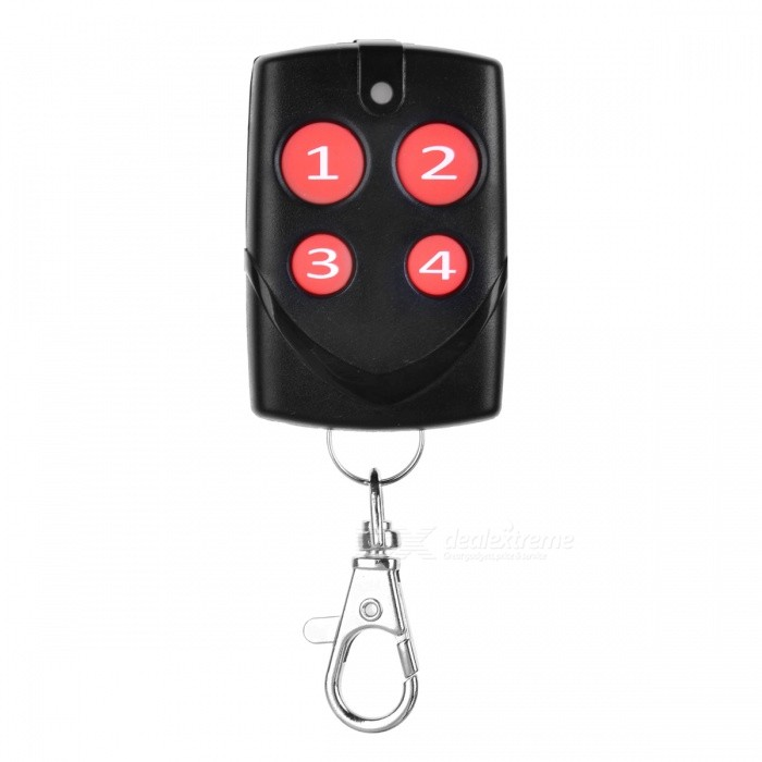 Universal Multi-Copy Remote Control Self-Copying Garage Gate Remote ControlRemote Controllers<br>Form  ColorDark red + BlackModelLJ-01MaterialABS+PCSQuantity1 DX.PCM.Model.AttributeModel.UnitShade Of ColorRedRemote Controller Battery TypeOthers,12V 23ABattery Capacity50 DX.PCM.Model.AttributeModel.UnitApplicationuniversalControl Range50-100 DX.PCM.Model.AttributeModel.UnitOther Features300MHZ, 306MHZ, 310MHZ, 315MHZ, 315.5MHZ, 330MHZ, 360MHZ, 390MHZ, 418MHZ,<br>430.5MHZ, 433.42MHZ, 433.92MHZ, 868.35MHZ, 286-361MHZ, 384-400MHZ,Packing List1 x Remote control<br>
