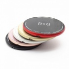 ST10 12W High Speed Qi Wireless Charger for Mobile Phone - Silver