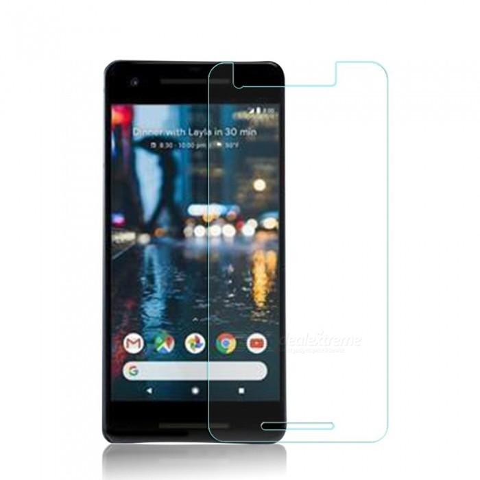 0.2mm 2.5D 9H Hardness Tempered Glass Screen Protector for Google Pixel 2Screen Protectors<br>Form  ColorTransparentScreen TypeGlossyModelN/AMaterialTempered GlassQuantity1 pieceCompatible ModelsGoogle Pixel 2Features2.5D,Scratch-proof,Tempered glassPacking List1 x Screen Film1 x Cloth 1 x Wet Wipes1 x Dust absorber<br>