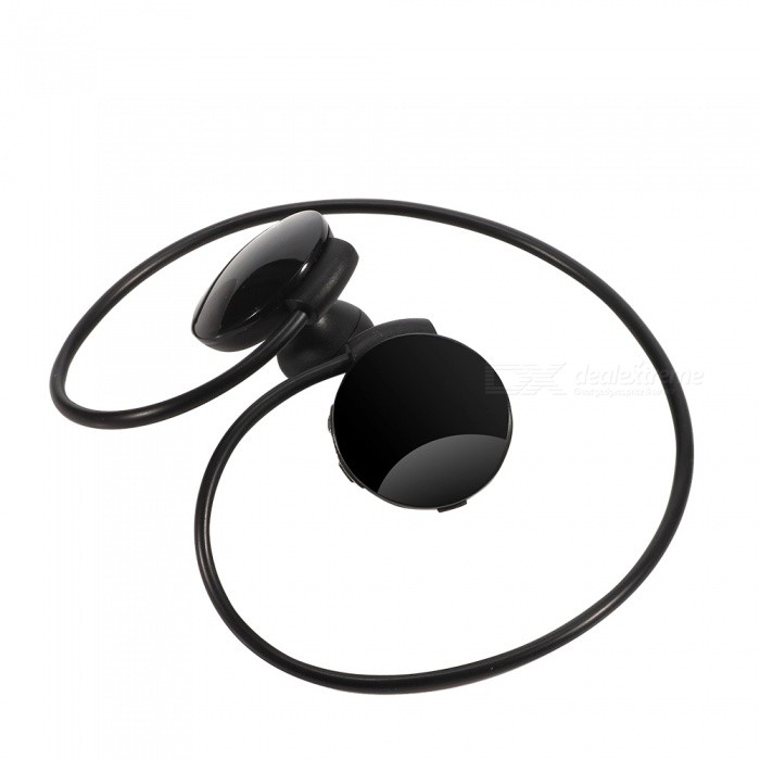 Sweat-proof Bluetooth Wireless Earhook Stereo Sport Running Headset Earphone for IPHONE / IPAD / Samsung Galaxy, Tablet - BlackHeadphones<br>Form  ColorBlackBrandOthers,N/AMaterialABSQuantity1 DX.PCM.Model.AttributeModel.UnitConnectionBluetoothBluetooth VersionBluetooth V4.0Bluetooth ChipCSROperating Range10mConnects Two Phones SimultaneouslyYesCable Length30 DX.PCM.Model.AttributeModel.UnitLeft &amp; Right Cables TypeEqual LengthHeadphone StyleBilateral,Earbud,In-Ear,Ear-hookWaterproof LevelIPX4Applicable ProductsUniversal,Others,Device with bluetoothHeadphone FeaturesHiFi,English Voice Prompts,Phone Control,Long Time Standby,Noise-Canceling,Volume Control,With Microphone,Lightweight,Portable,Game Headset,Invisible Style,For Sports &amp; ExerciseSupport Memory CardNoSupport Apt-XYesChannels2.0Frequency Response20-20kHzImpedance32 DX.PCM.Model.AttributeModel.UnitDriver Unit2mmBattery TypeLi-ion batteryBuilt-in Battery Capacity 110 DX.PCM.Model.AttributeModel.UnitStandby Time200 DX.PCM.Model.AttributeModel.UnitTalk Time6 DX.PCM.Model.AttributeModel.UnitMusic Play Time7 DX.PCM.Model.AttributeModel.UnitPower AdapterUSBPacking List1 x Bluetooth Earphone1 x Charging Cable1 x User Mabual<br>