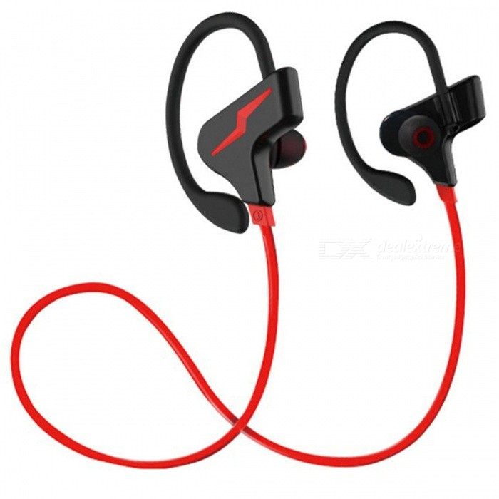 ZHAOYAO Bluetooth CSR Wireless Stereo Sport Headset, Earhook Type Running Binaural Earphone - RedOther Bluetooth Devices<br>Form  ColorRed + BlackMaterialGreen materialQuantity1 DX.PCM.Model.AttributeModel.UnitShade Of ColorRedBluetooth VersionOthers,4.1Operating Range10mApplicable ProductsIPHONE 4S,MP3,MP4,IPHONE 5S,IPHONE 5CBuilt-in Battery Capacity 120 DX.PCM.Model.AttributeModel.UnitPacking List1 x Headphone<br>