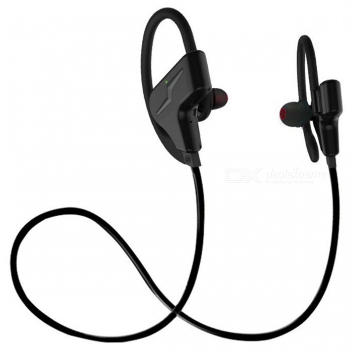 ZHAOYAO Bluetooth CSR Wireless Stereo Sport Headset, Earhook Type Running Binaural Earphone - BlackOther Bluetooth Devices<br>Form  ColorBlack + GreyMaterialGreen materialQuantity1 DX.PCM.Model.AttributeModel.UnitShade Of ColorBlackBluetooth VersionOthers,4.1Operating Range10mApplicable ProductsIPHONE 5,MP3,MP4,IPHONE 5S,IPHONE 5CBuilt-in Battery Capacity 120 DX.PCM.Model.AttributeModel.UnitPacking List1 x Headphone<br>