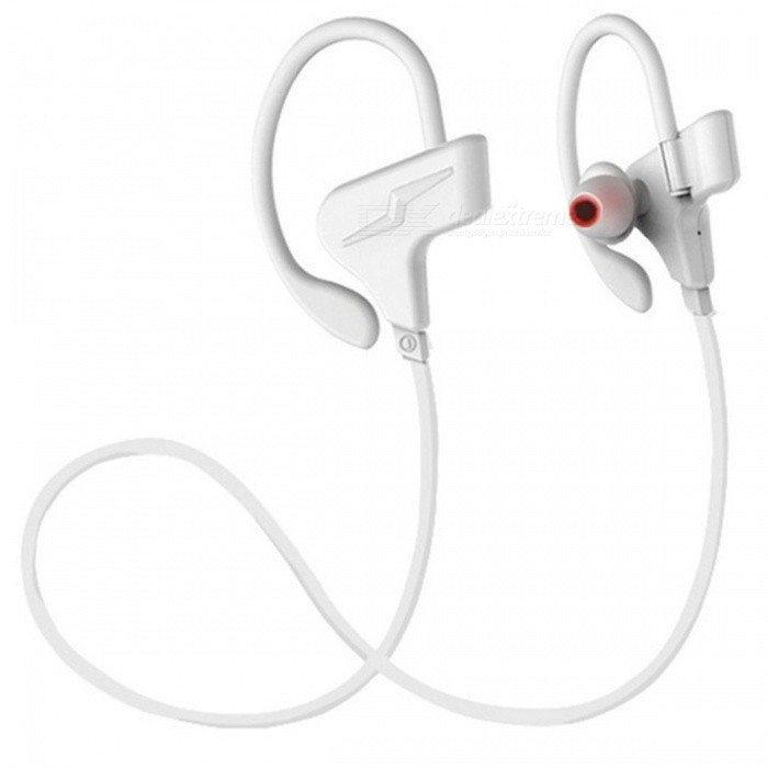 ZHAOYAO Bluetooth CSR Wireless Stereo Sport Headset, Earhook Type Running Binaural Earphone - WhiteOther Bluetooth Devices<br>Form  ColorMilky WhiteMaterialGreen materialQuantity1 setShade Of ColorWhiteBluetooth VersionOthers,4.1Operating Range10mApplicable ProductsIPHONE 5,MP3,MP4,IPHONE 5S,IPHONE 5CBuilt-in Battery Capacity 120 mAhPacking List1 x Headphone<br>