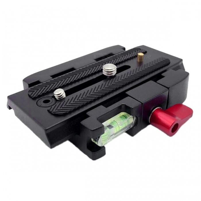 P200 Portable Premium Quick Release Plate for Tripod - BlackTripods and Holders<br>Form  ColorBlackModelP200MaterialMetalQuantity1 pieceShade Of ColorBlackTypeTripodRetractableNoPacking List1 x Fast Loading Plate<br>