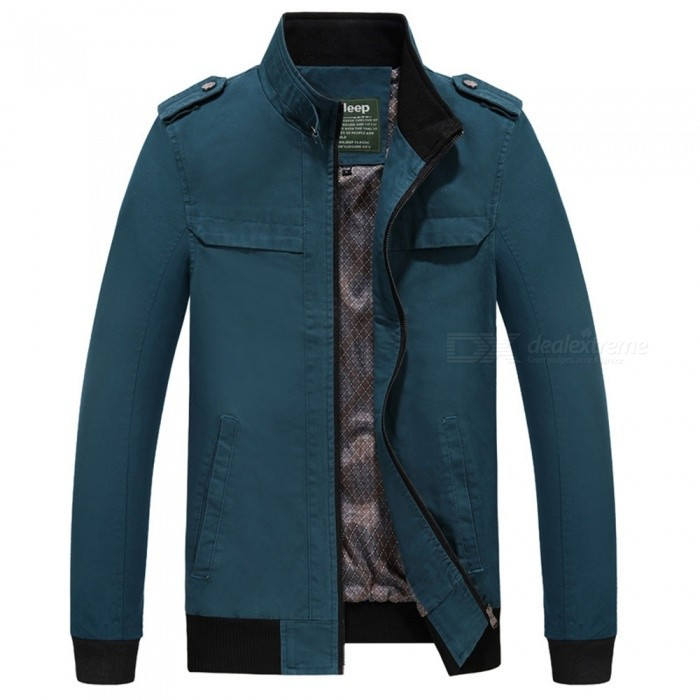 7715 Outdoor Mens Stylish Slim Cotton Jacket Coat - Light Blue (3XL)Jackets and Coats<br>Form  ColorLight BlueSizeXXXLModel7715Quantity1 DX.PCM.Model.AttributeModel.UnitShade Of ColorBlueMaterialSurface and polyesterStyleFashionTop FlyZipperShoulder Width51 DX.PCM.Model.AttributeModel.UnitChest Girth120 DX.PCM.Model.AttributeModel.UnitWaist Girth120 DX.PCM.Model.AttributeModel.UnitSleeve Length67 DX.PCM.Model.AttributeModel.UnitTotal Length73 DX.PCM.Model.AttributeModel.UnitSuitable for Height190 DX.PCM.Model.AttributeModel.UnitPacking List1 x Coat<br>
