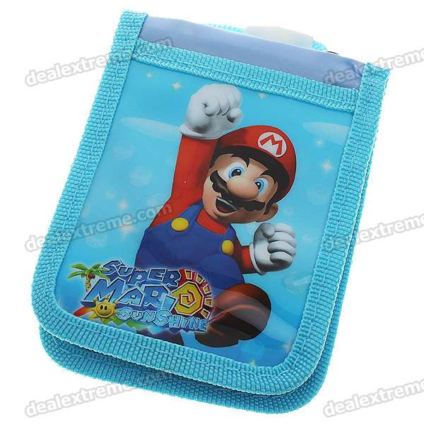 Cute Cartoon Mario Style Card Holder Cases with Hanging Strap (Style/Color Assorted)