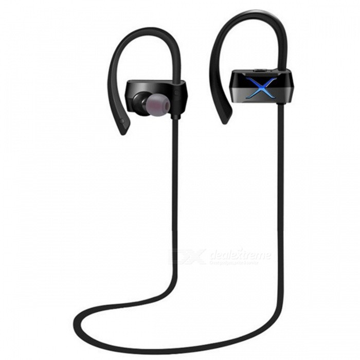 ZHAOYAO N28 IPX4 Waterproof Wireless Bluetooth V4.1 Earhook Earphone Headset for Sports Fitness Riding - BlueOther Bluetooth Devices<br>Form  ColorBlack + BlueMaterialGreen materialQuantity1 DX.PCM.Model.AttributeModel.UnitShade Of ColorBlackBluetooth VersionOthers,4.1Operating Range10mStandby Time160 DX.PCM.Model.AttributeModel.UnitApplicable ProductsIPHONE 5,IPHONE 4,MP3,MP4,IPHONE 5S,IPHONE 5CBuilt-in Battery Capacity 75 DX.PCM.Model.AttributeModel.UnitPacking List1 x Earphone<br>
