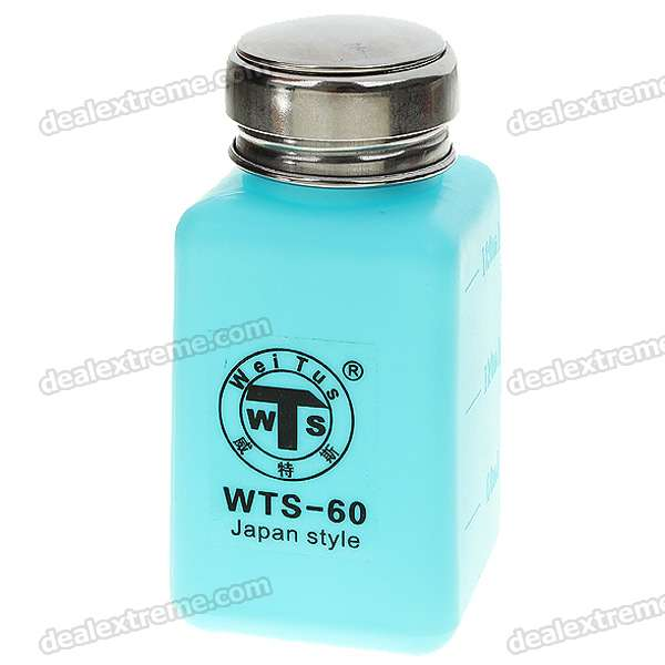 180ml Alcohol and Liquid Container Bottle - Blue