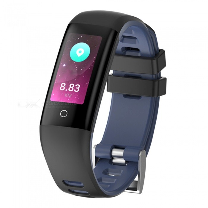 G16 Color Screen Bluetooth Intelligent Hand Loop Bracelet w/ Multi Motion Model, Heart Rate Monitor, Pedometer - BlueSmart Bracelets<br>Form  ColorBlueModelG16Quantity1 DX.PCM.Model.AttributeModel.UnitMaterialTPUShade Of ColorBlueWater-proofIP67Bluetooth VersionBluetooth V4.0Touch Screen TypeIPSOperating SystemAndroid 4.4,iOSCompatible OSAndroid IOSBattery Capacity105 DX.PCM.Model.AttributeModel.UnitBattery TypeLi-polymer batteryStandby Time15 DX.PCM.Model.AttributeModel.UnitPacking List1 x Smart Bracelet1 x User handbook1 x Charger1 x Color box<br>