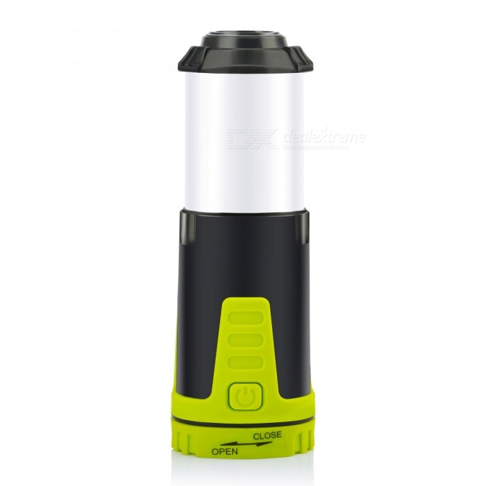 OJADE Mini Portable Camping Lantern Flashlight, Tent Light for Hiking Camping Emergencies Hurricanes Outdoor LightingOutdoor Lantern<br>Form  ColorWhite + Light GreenQuantity1 setMaterialABSEmitter BINLEDNumber of Emitters1Color BINOthers,Red  whiteBattery TypeAABattery Number5Battery included or notNoNumber of Modes5Actual Lumens90 lumensLantern TypeElectricBest UseFamily &amp; car camping,Backpacking,Camping,Mountaineering,Travel,Others,FishingPacking List1 x Light<br>