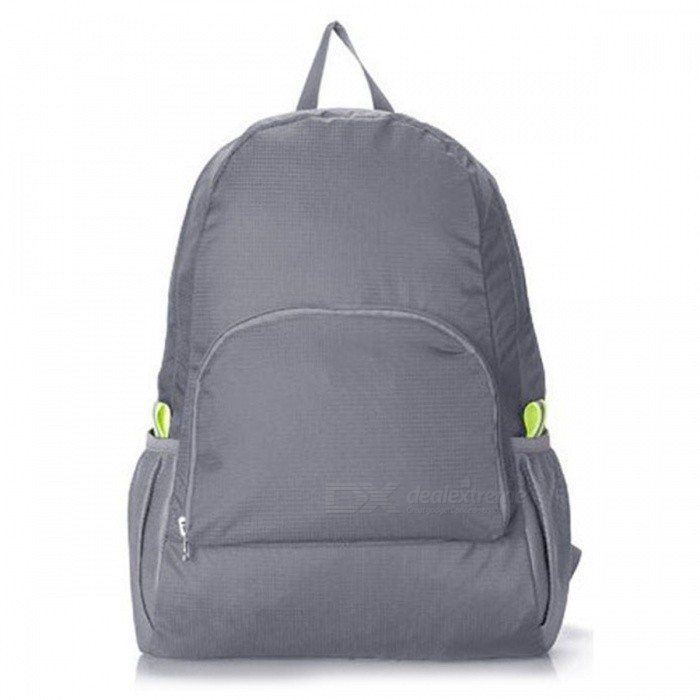 Ultralight Casual Backpack Waterproof Nylon Backbag Travel Backpack School Bag - GreyForm  ColorGreyBrandOthers,Others,IMEModelIME1201Quantity1 pieceMaterialNylonTypeDaypackGear Capacity20 LCapacity Range20L~40LRaincover includedNoBest UseRunning,Climbing,Mountaineering,Travel,CyclingWarranty12 monthsCertificationCEPacking List1 x Grey Backpack<br>