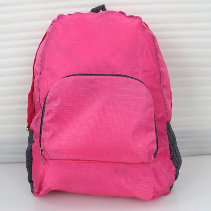 Ultralight Casual Backpack Waterproof Nylon Backbag Travel Backpack School Bag - Deep PinkForm  ColorDark PinkBrandOthers,Others,IMEModelIME1201Quantity1 DX.PCM.Model.AttributeModel.UnitMaterialNylonTypeDaypackGear Capacity20 DX.PCM.Model.AttributeModel.UnitCapacity Range20L~40LRaincover includedNoBest UseRunning,Climbing,Mountaineering,Travel,CyclingWarranty12 monthsCertificationCEPacking List1 x Backpack<br>