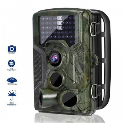 IP56 Waterproof 12MP 1080P Motion Activated Wildlife Trail Hunting Camera w/ 120 Degree Infrared Night Version