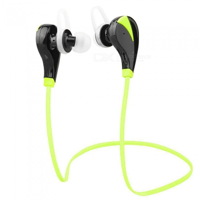 ZHAOYAO Mini Bluetooth V4.1 Wireless Sports Headset Earbuds for Running Fitness Exercise - GreenOther Bluetooth Devices<br>Form  ColorBlack + GreenMaterialGreen materialQuantity1 DX.PCM.Model.AttributeModel.UnitShade Of ColorBlackBluetooth VersionOthers,4.1Bluetooth ChipCSR BC8653Operating Range10mStandby Time150 DX.PCM.Model.AttributeModel.UnitApplicable ProductsIPHONE 5,IPHONE 4,IPHONE 4S,IPHONE 3G,IPAD,MP3,MP4,IPHONE 5S,IPHONE 5CBuilt-in Battery Capacity 80 DX.PCM.Model.AttributeModel.UnitPacking List1 x Earphone<br>
