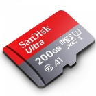 Sandisk SDSQUAN-200G-Z4A Ultra 200GB Micro SDXC UHS-I Card with Adapter for Android