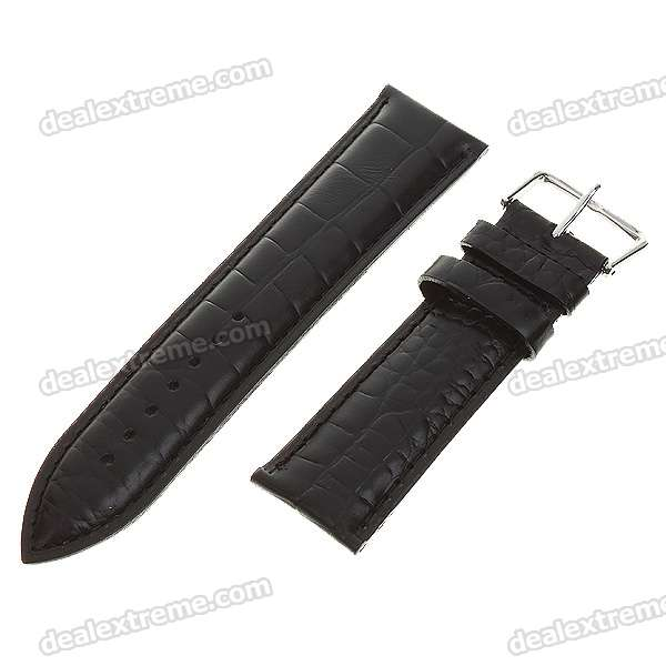Leather Sweat-Resistant Watchbands - 20.7cm