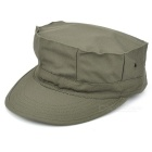 Military Octagon Shaped Hat Cap - Army Green