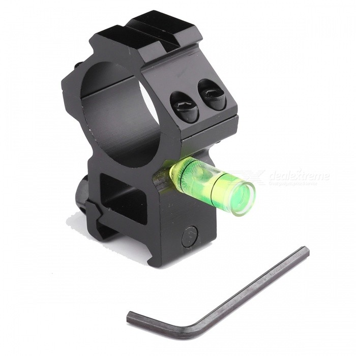 ACCU Aluminum Alloy Tactical 20mm Gun Mount for 30mm Barrels with Spirit Level - BlackGun Mounts/Rails<br>Form  ColorBlackMaterialAluminum AlloyQuantity1 setGun Type20mm rail gunRail Size20mmMount TypeWeaver,Pica-tinnyRing Diameter30mmPacking List1 x Mount1 x Hex wrench<br>