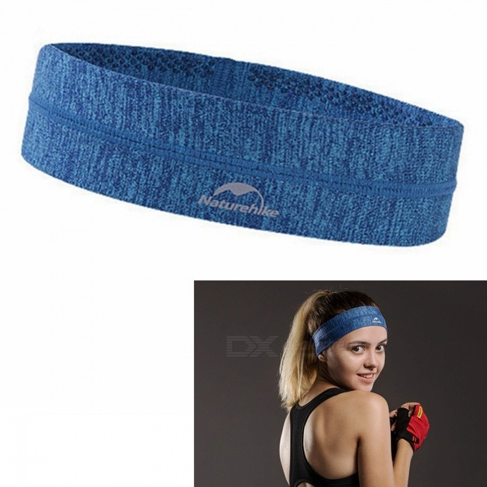 NatureHike Outdoor Sports Anti-perspirant Running Hair Band Headband for Men, Women - BlueHair Style Supplies<br>Form  ColorBlueModelNH17Z020-DMaterialPolyester fiber + polyamide fiberQuantity1 DX.PCM.Model.AttributeModel.UnitShade Of ColorBlueTemperature of The Ironing PlateNOWarm-Up TimeNO360 Rotate The Power CordNOIroning Board Size0 DX.PCM.Model.AttributeModel.UnitCable Length0 DX.PCM.Model.AttributeModel.UnitCoatingNOCategoryHair bandStyleCasualPower SupplyOthers,NOPower AdapterOthers,NOUniversal VoltageNORate VoltageNORated FrequencyNO DX.PCM.Model.AttributeModel.UnitRated PowerNO DX.PCM.Model.AttributeModel.UnitPacking List1 x Hair Band<br>