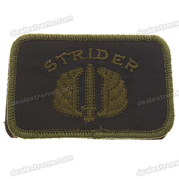 Tactical Strider Style Velcro