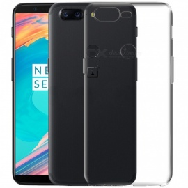 ASLING  Ultra-thin Soft Flexible Clear TPU Back Case for OnePlus 5T