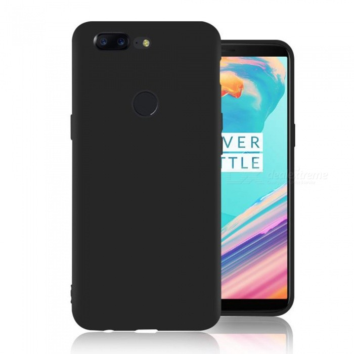 Naxtop TPU Ultra-thin Soft Flexible Protective Back Case for Oneplus 5T - BlackTPU Cases<br>Form  ColorBlackModelN/AMaterialTPUQuantity1 DX.PCM.Model.AttributeModel.UnitShade Of ColorBlackCompatible ModelsOneplus 5TPacking List1 x Case<br>