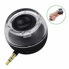 Portable mini plug-in 3.5mm aux speaker loudspeaker for mobile phone