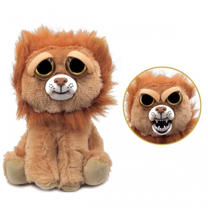 Mischievous Adorable Cute Angry Face Changing Plush Doll Toy Gift for Children - Lion StyleDolls and Stuffed Toys<br>Form  ColorNude BeigeMaterialPlushQuantity1 DX.PCM.Model.AttributeModel.UnitSuitable Age 3-6 months,6-9 months,9-12 monthsPacking List1 x Doll<br>