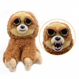 Mischievous Adorable Cute Angry Face Changing Plush Doll Toy Gift for Children - Sloth Style