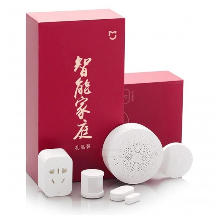 xiaomi mijia draadloze switch smart home kit met geschenkpakket - wit