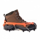 Naturehike Ice Spike Cleats Crampons Snow Boot Shoe Covers - Orange (M / Pair)
